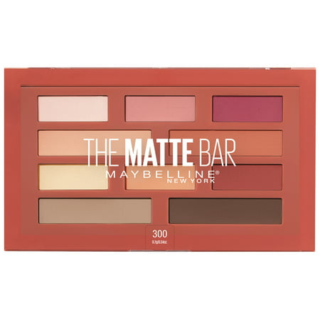 Maybelline The Matte Bar Eyeshadow Palette Makeup, 0.34 oz.