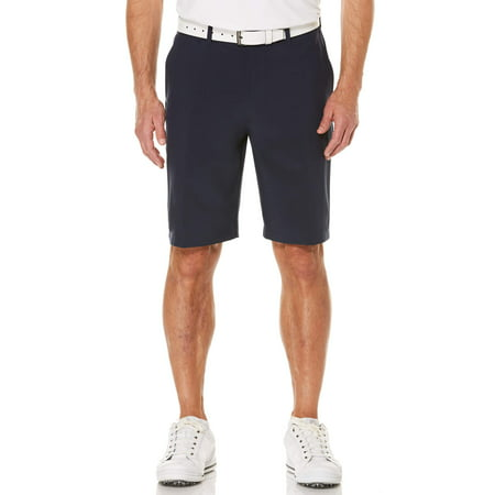 Men's Performance Flat Front Active Flex Waistband Four Way Stretch - Army Stretch Shorts