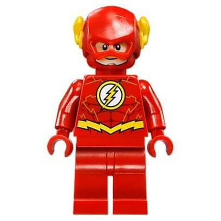 LEGO DC Universe Super Heroes Flash Minifigure [76098] [No (Lego Dc Universe Super Heroes Batman Minifigure Clock)