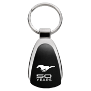 Au-TOMOTIVE GOLD Mustang 50 Years Red Tear Drop Key Fob