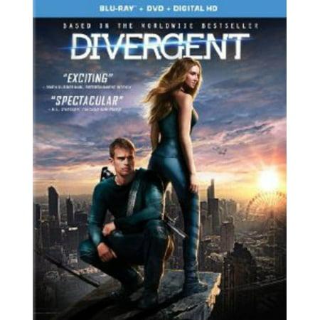 Divergent  Blu Ray   Dvd