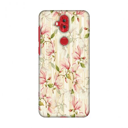 Honey Silver Snap (Asus Zenfone 5 Lite ZC600KL Case - Flowers and buds- Honey, Hard Plastic Back Cover, Slim Profile Cute Printed Designer Snap on Case with Screen Cleaning)