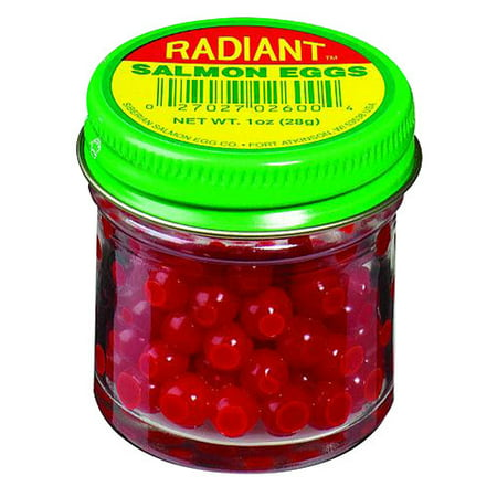 Atlas Mike's Siberian Supreme Radiant Red Salmon Eggs, Medium/Small, 1