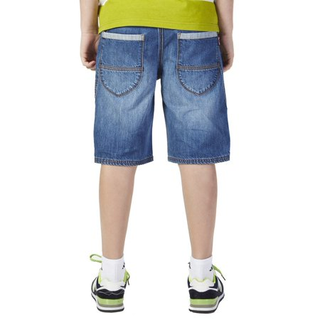 Leo&Lily Big Boys' Kids' Husky Waist Casual Denim Shorts Jeans