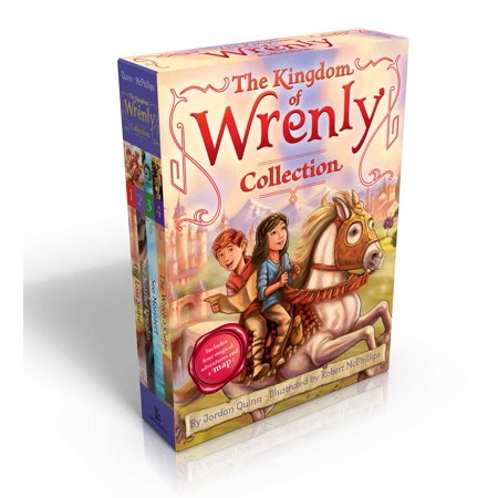 The Kingdom of Wrenly Collection (Includes four magical adventures and a map!) : The Lost Stone; The Scarlet Dragon; Sea Monster!; The Witch's (In This Moment Lost At Sea Acoustic)
