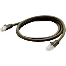 Image of 15FT CAT6A BLACK PVC UTP RJ45 M/M COPPER PATCH CABLE