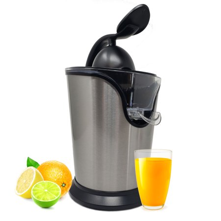 Electric Citrus Juicer Squeezer Stainless Steel Extractor Oranges Lemons Fruits Vegetables Greens