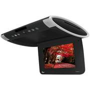 "Tview T101DVFDBK 10.1"" Wide Screen Flip Down W/Built In Slot Type Dvd Player (Black)"