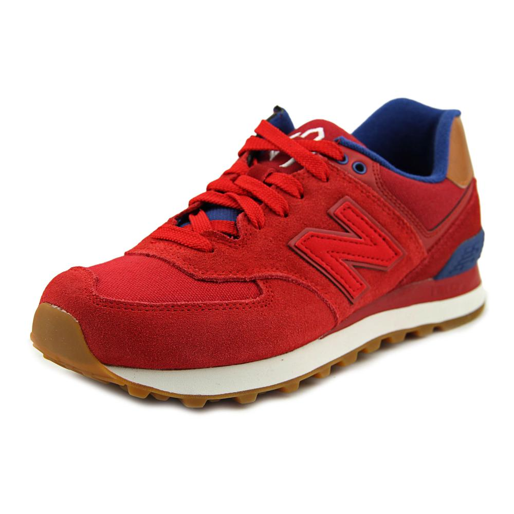New Balance WL574 Women Leather Fashion Sneakers by New Balance