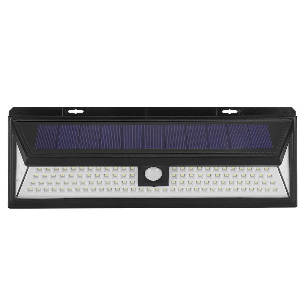 Akozon Led Solar Ed Waterproof Motion Sensor Outdoor Lamp Induction Yard Garden Wall Light