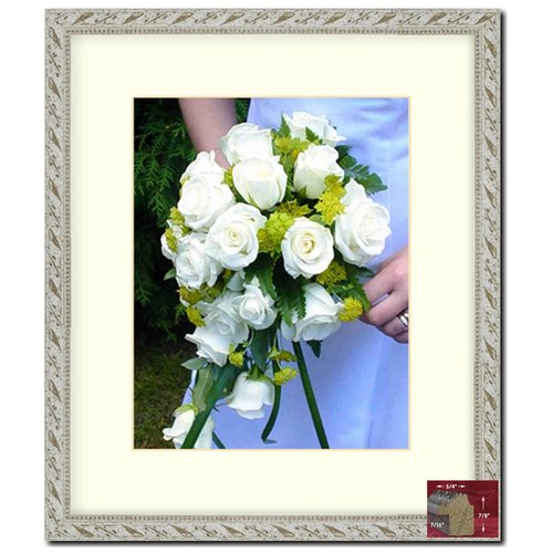 Frames By Mail 11'' x 14'' Frame in Antiqued White