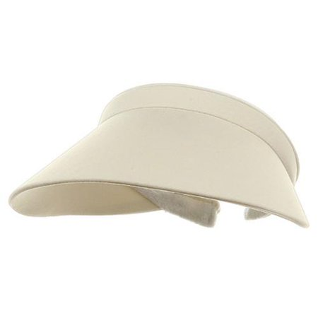 Ladies Clip On Visor, Natural](Customize Visor)