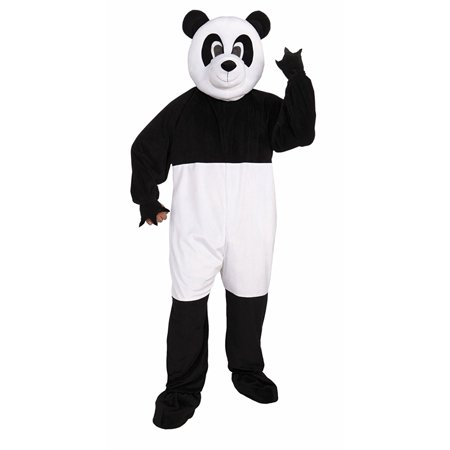 Panda Mascot Adult Halloween Costume - One Size