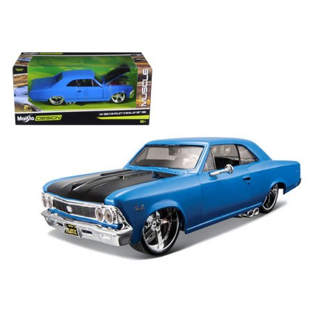 - 1966 Chevrolet Chevelle SS 396 Blue \Classic Muscle\