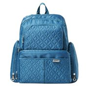 SoHo Backpack Diaper Bag, Manhattan, Teal, 5 Piece Set
