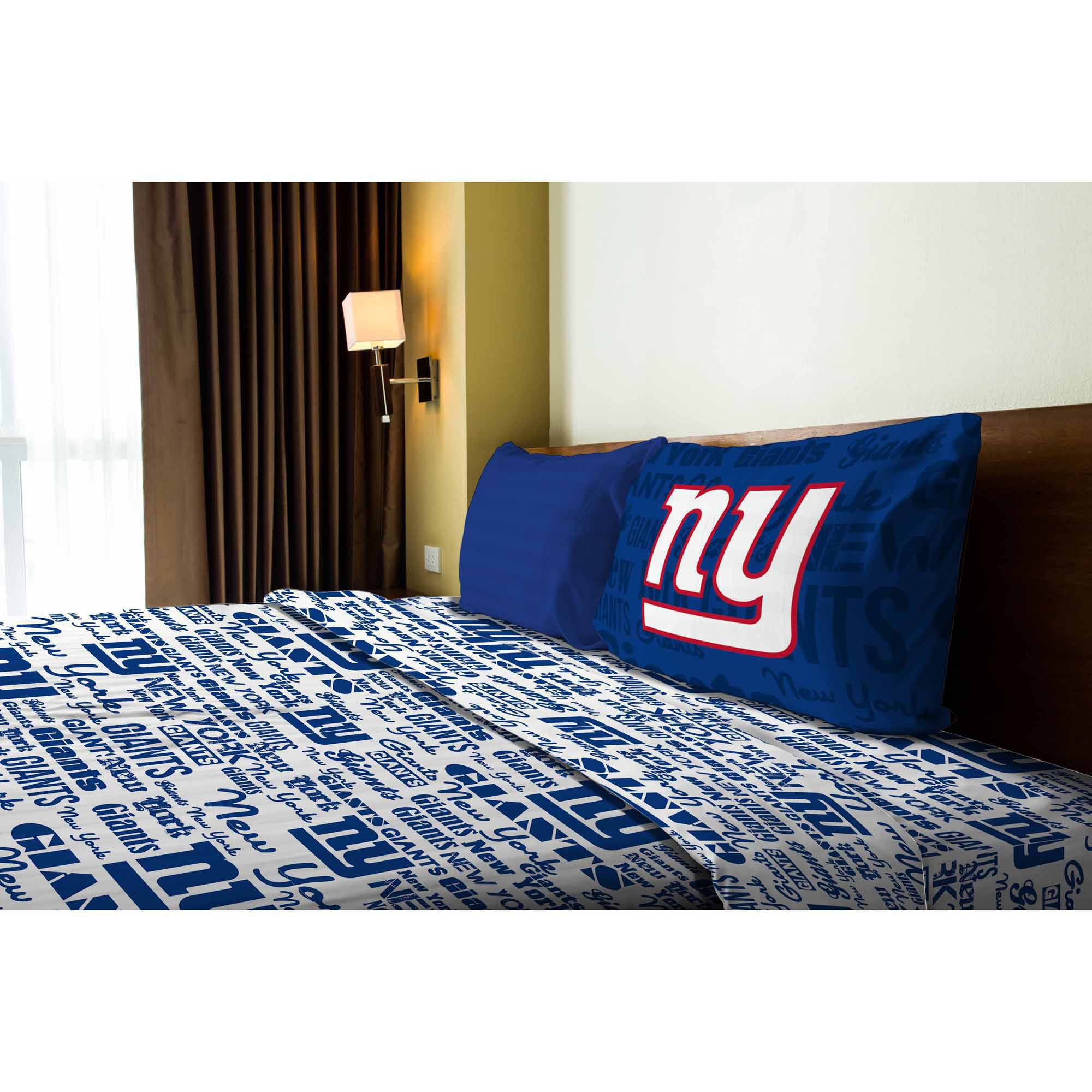 NFL New York Giants Sheet Set