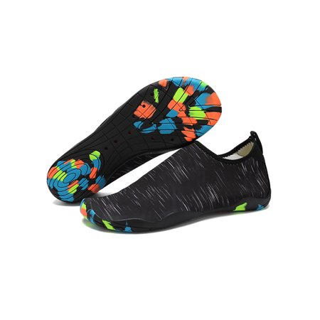 e73fa3942624f MOLLYCOOCLE - Men Quick-Dry Water Shoes Barefoot Aqua Socks Yoga Beach Swim  Pool - Walmart.com