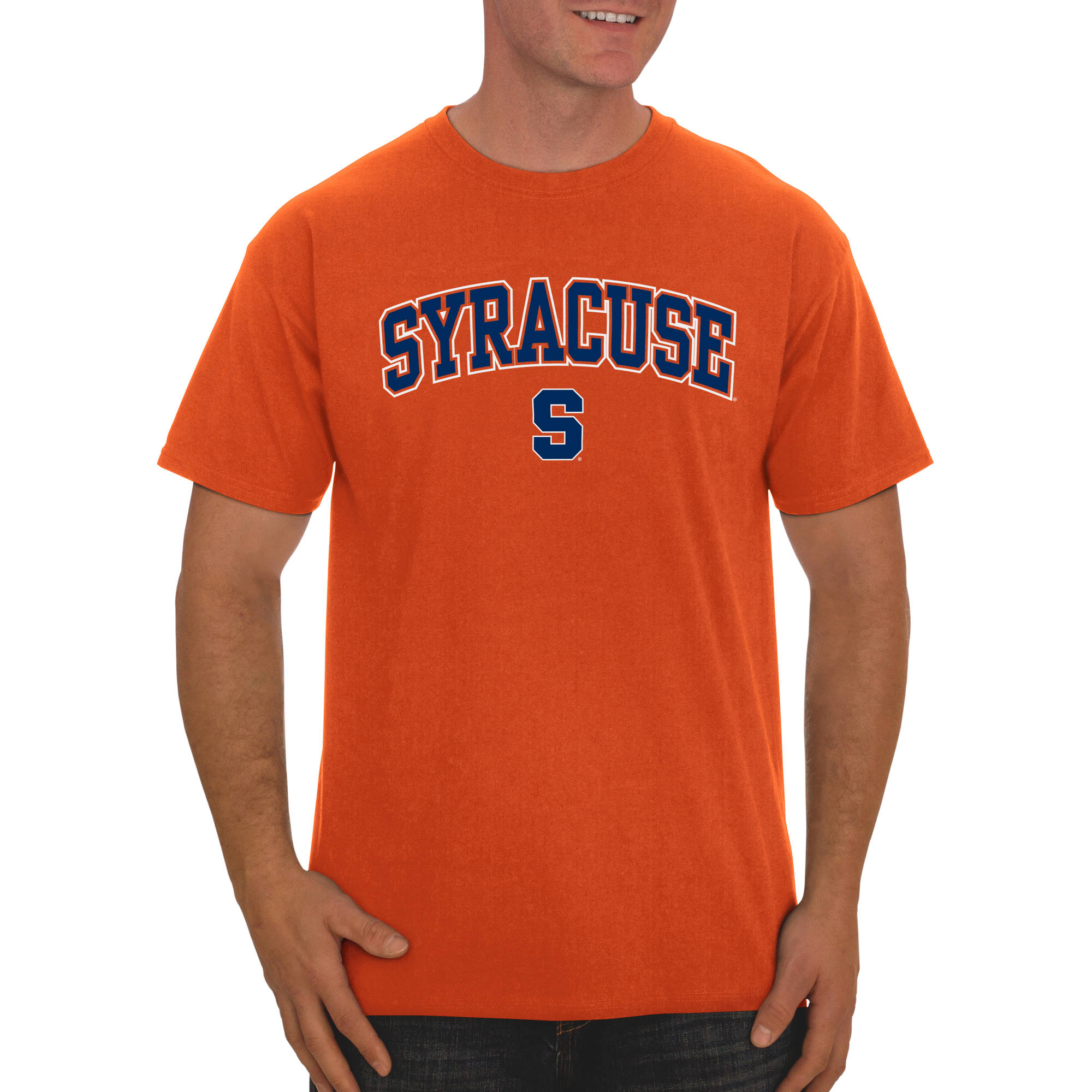 Russell NCAA Syracuse Orange Big Men's Classic Cotton T-Shirt