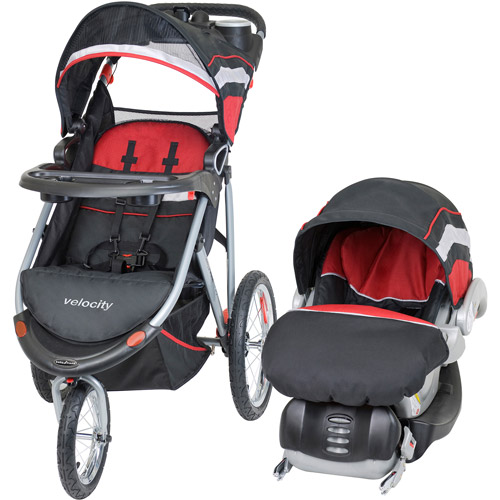Baby Trend - Velocity Jogger Travel System, Volcano