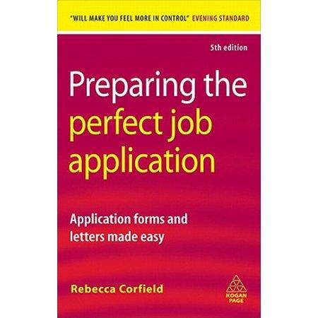 Preparing the Perfect Job Application - eBook