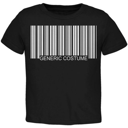 Greatest Bar Halloween (Halloween Generic Barcode Costume Black Toddler)