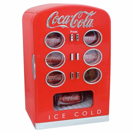 Coca Cola 12-Can Retro Vending Fridge