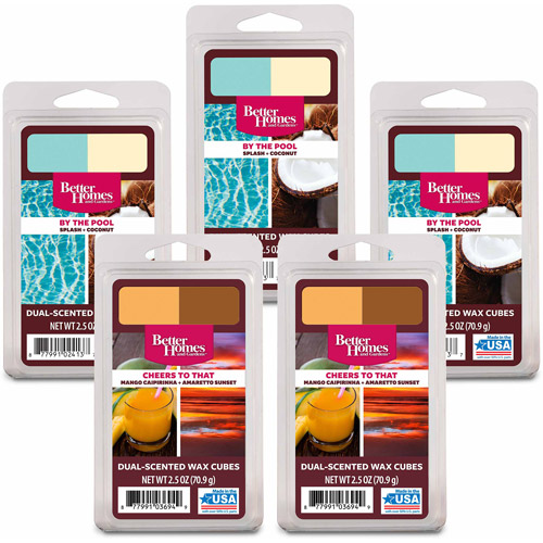 Better Homes and Gardens 5-Pack Wax Duo's, Summer Fun