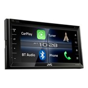 "JVCM KW-V820BT 6.8"" Double-DIN In-Dash DVD Receiver with Bluetooth, Apple CarPlay and SiriusXM Ready"