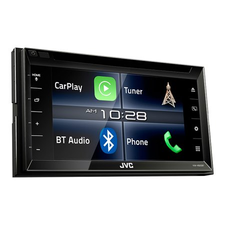 Jvc Kw-v820bt Car Dvd Player – 6.8″ Touchscreen Lcd – 88 W Rms – Double Din – 4 Channels – Dvd+rw, Dvd-rw, Cd-rw – Dvd Video, Mpeg-1, Mpeg-2, Video Cd, Svcd – Cd-da, Mp3, Wma, Wav, Aac – (kwv820bt)