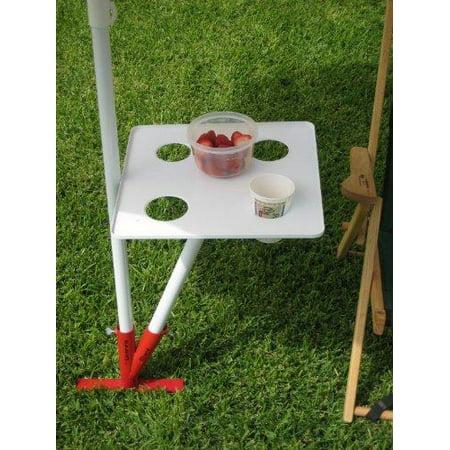 the original umbrella stand food & drink table (Food Umbrella)