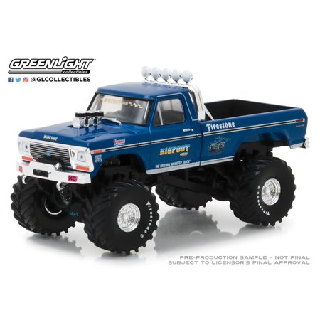 Bigfoot #1 The Original Monster Truck Diecast in 1:43 Scale by Greenlight ()