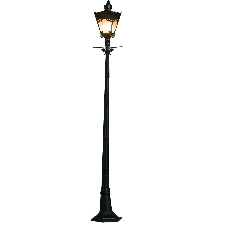 City Street Light, Black