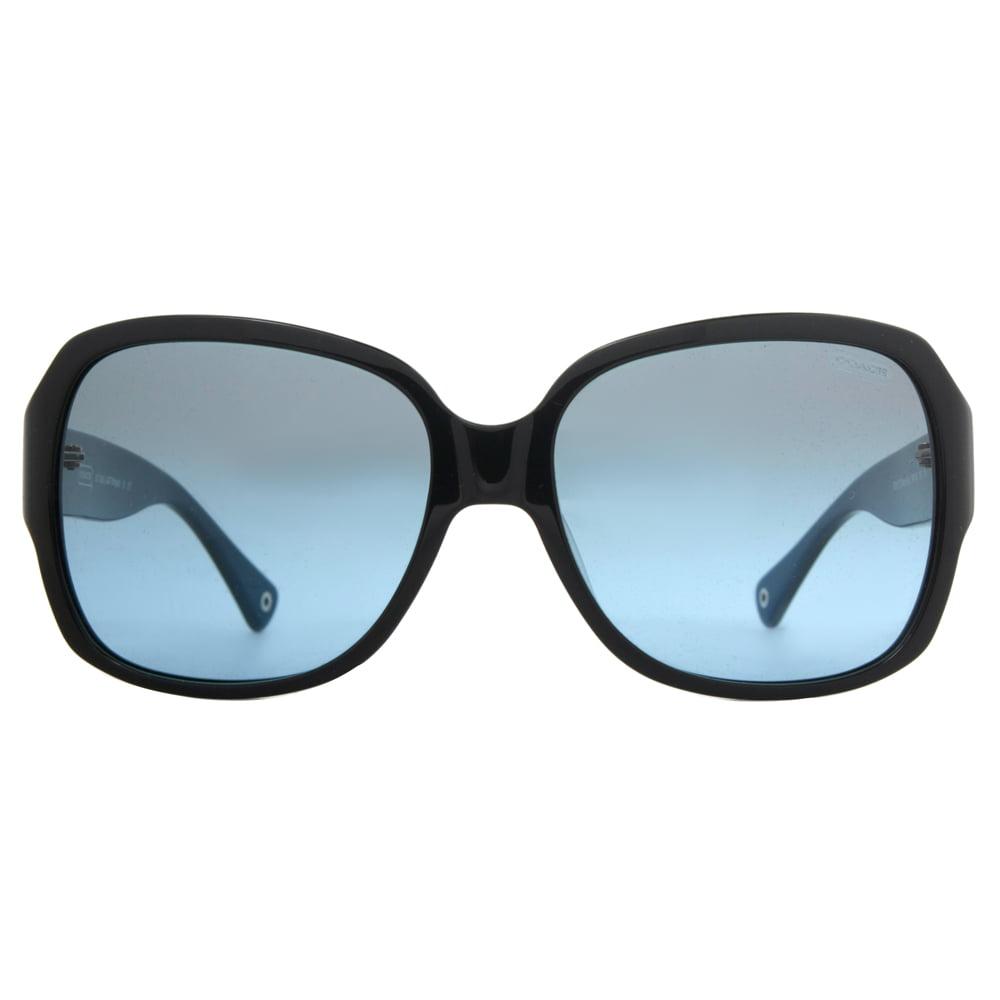 5d92a6cce28e3 ... shopping coach hc8043 l037 bridget 5091 17 shiny black blue womens  sunglasses walmart 57438 c840b