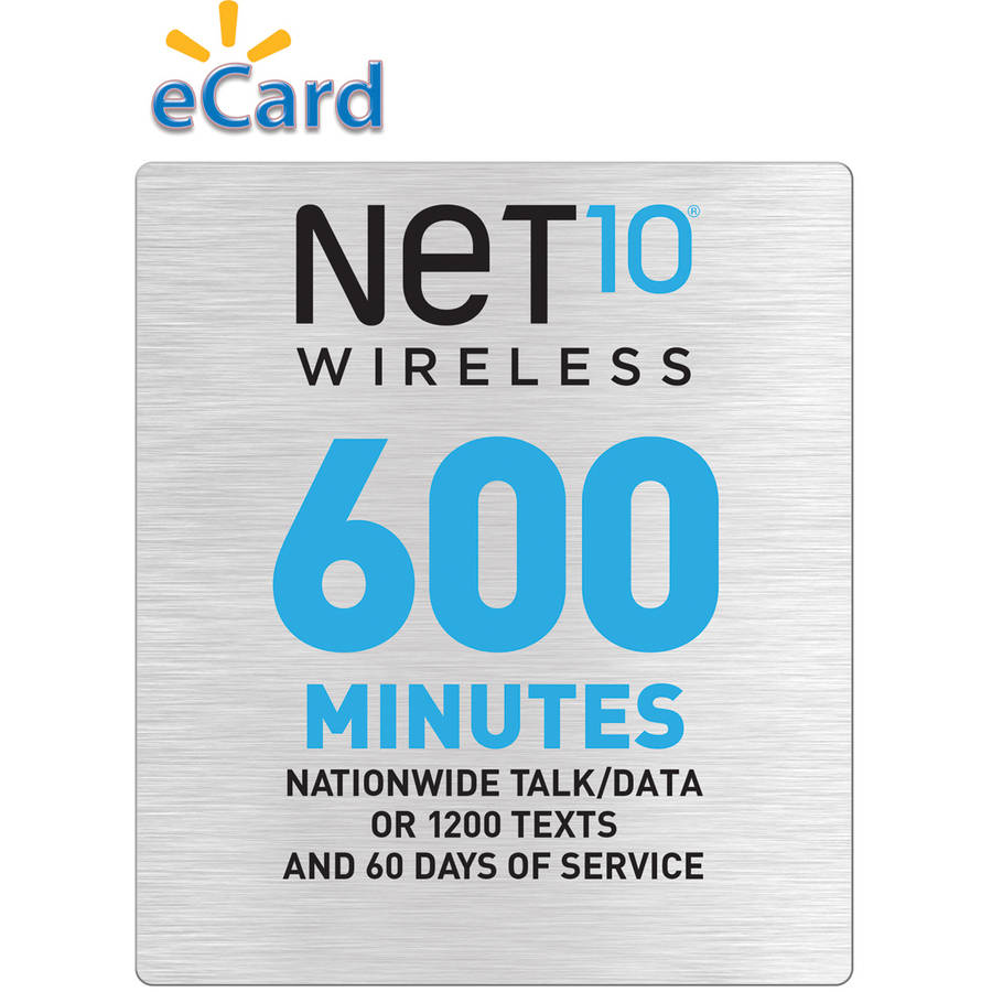 (Email Delivery) NET10 600 Minutes $45