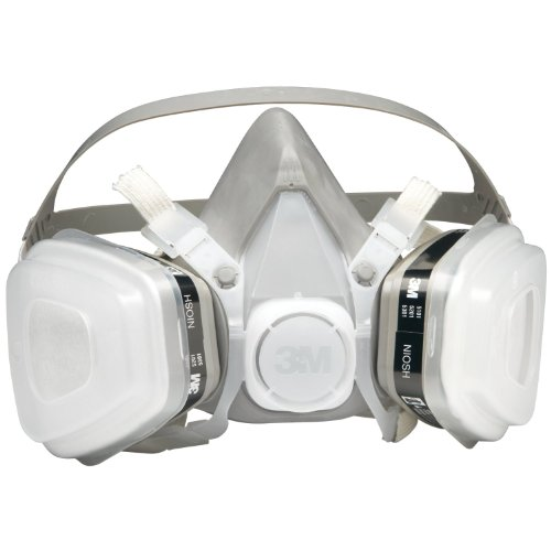 3M 52P71 - Dual Cartridge Respirator Assembly 52P71, Organic Vapor/P95, Medium