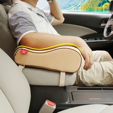 Universal Auto Seat Cushion Memory Foam Car Armrest Center Consoles