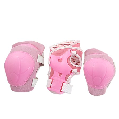 - Skating Sports Gear Wrist Guard Elbow Knee Pads Set For Little Girls