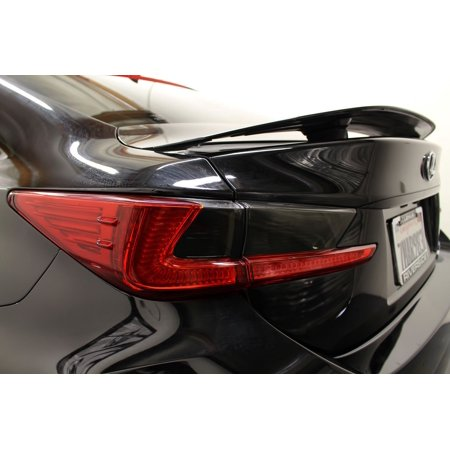 Lexus RC Tinted Tail Lights Overlays Smoked Lamps Protection Cover Film