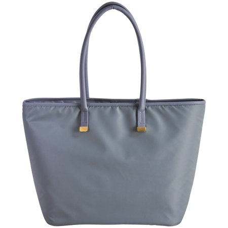Gray Zippered Laptop Tote for Up To 13 Laptops