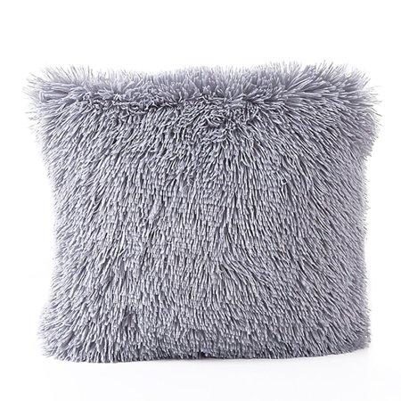 Faux Fur Pillow Cover - Faux Fur Pillow Cover Tayyakoushi Home Decorative Super Soft Plush Mongolian Faux Fur Throw Pillowcase, Cushion Cover for Sofa ,18