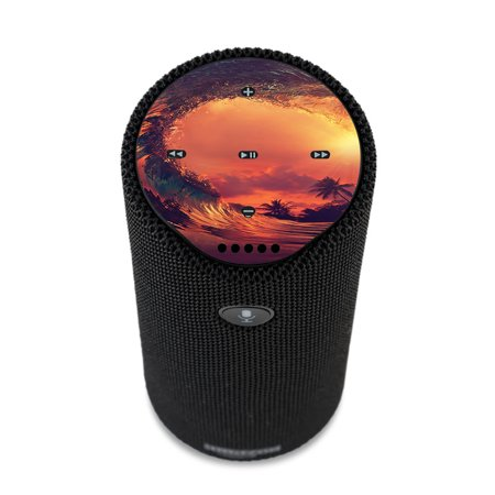 Skin Decal For Amazon Echo Tap Skins Stickers Cover / Sunset Through A Tube, Barrel Ride See Through Barrel