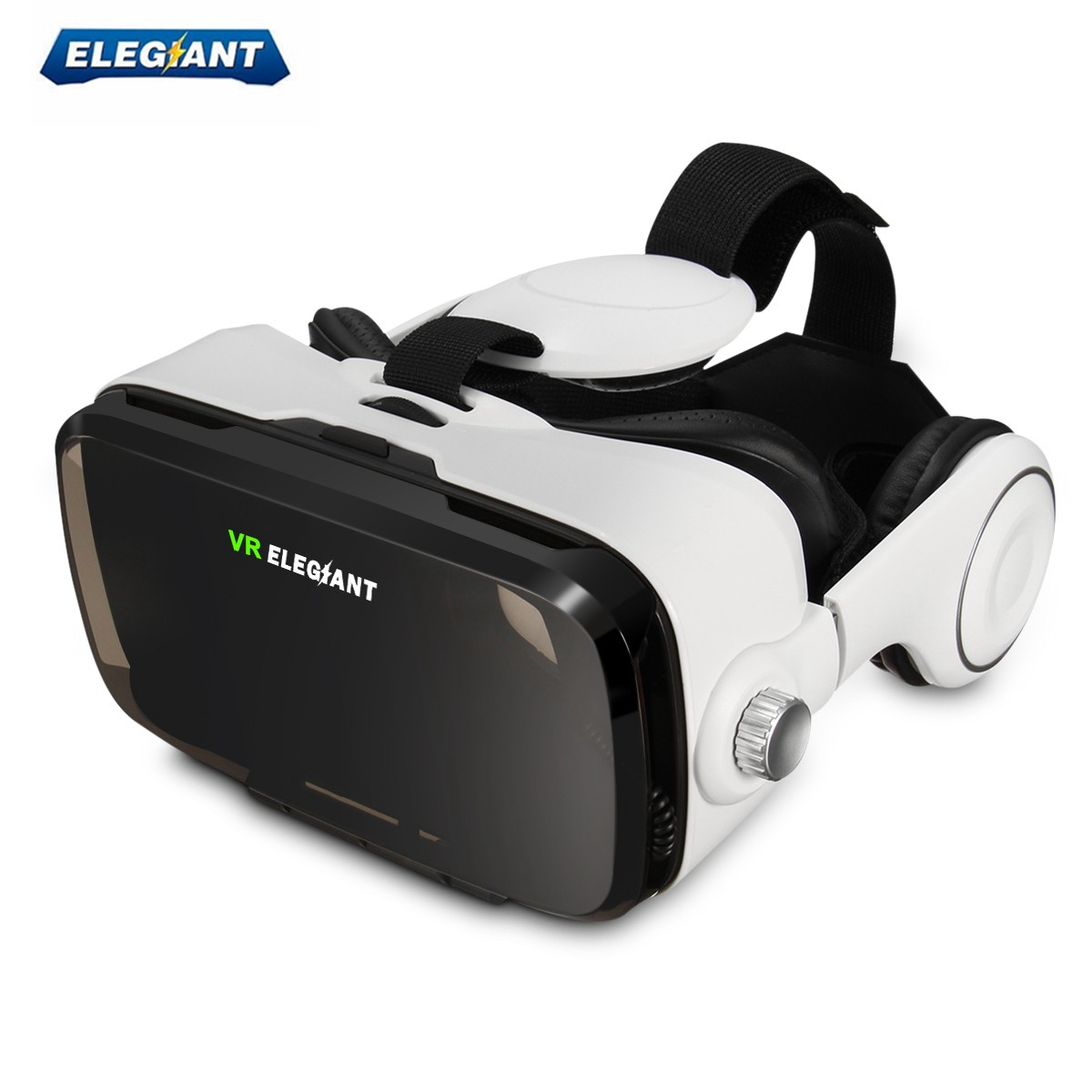 ELEGIAN VR Case Goggle Glasses Virtual Reality 3D Glasses Headset Movies Game For 4.0-6.0 inch Screen Mobile Phone Smartphone