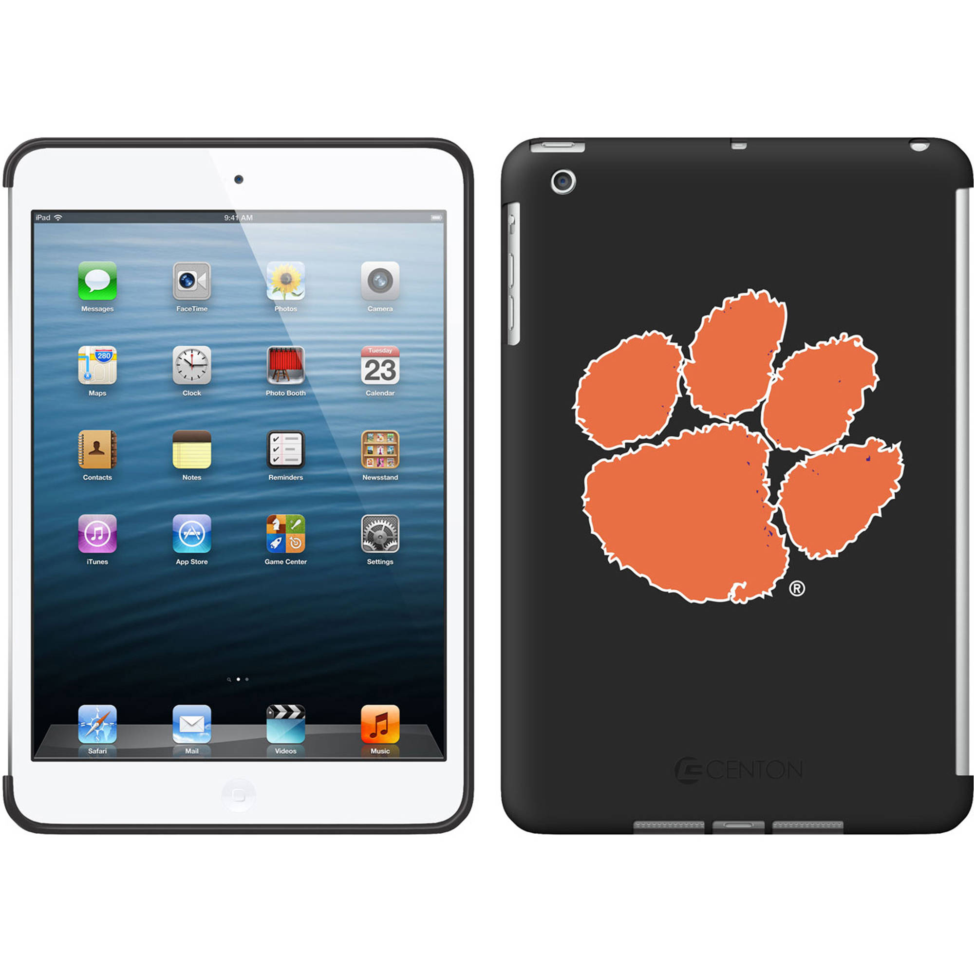 Apple iPad mini Classic Shell Case, Clemson University by Centon Electronics