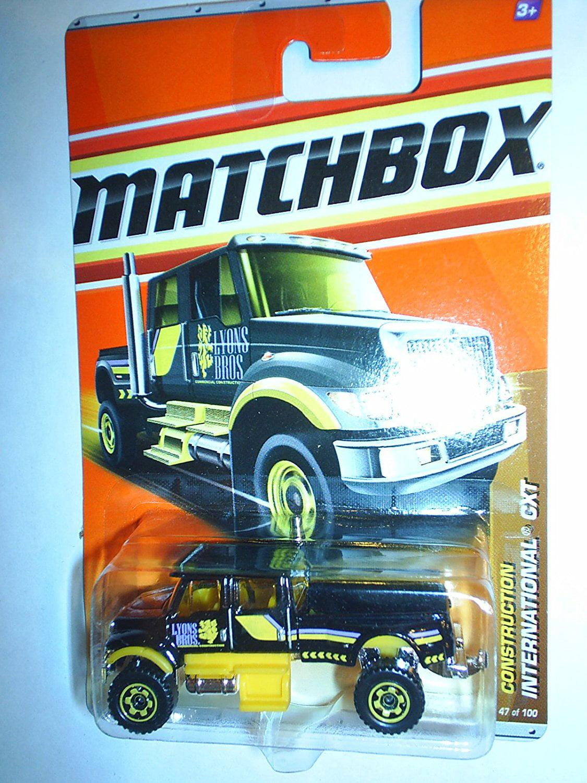 2011 International CXT Truck #47 BLACK By Matchbox by