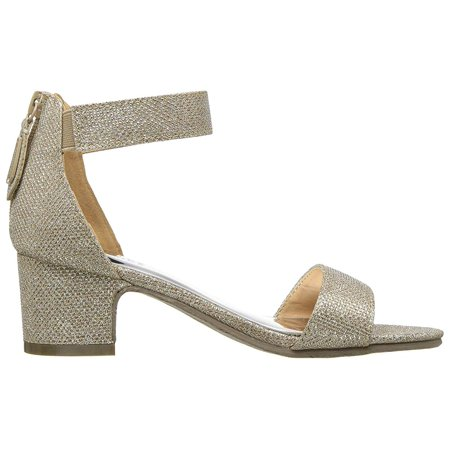 Badgley Mischka Kids Pernia Velma (Little Kid/Big Kid) Light Gold Shimmer