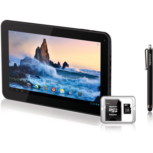 """Hipstreet Equinox2 HS-10TB2-4BNDL with WiFi 10.1"""" Touchscreen Tablet PC Bundle Featuring Android 4.0 (Ice Cream Sandwich) Operating System"""