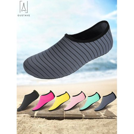 Barefoot Skis - GustaveDesign Unisex Barefoot Water Skin Shoes Strip Beach Sock Quick-Dry Aqua Water Socks For Beach Swim Surf Outdoor Exercise