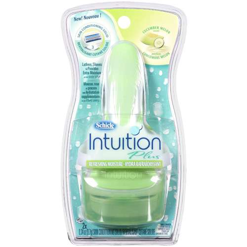 Energizer Schick Intuition Plus Shaving Kit, 1 ea