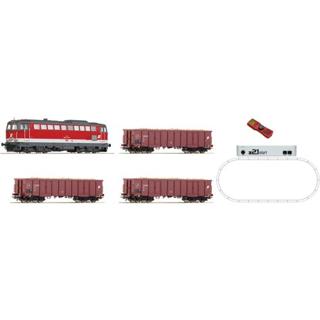 Roco 51291 HO Digital Starter Set Z21: Diesel Locomotive Series 2043
