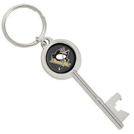NHL Pittsburgh Penguins Skeleton Key Bottle Opener Key Ring](Penguin Keychain)